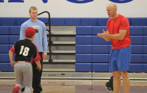 LLCC baseball camp, alumni teach children different aspects of the sport
