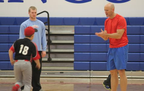 LLCC baseball camp, alumni teach children different aspects of the sport