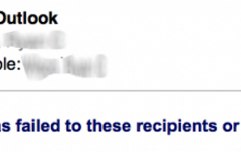 Email threat resolved