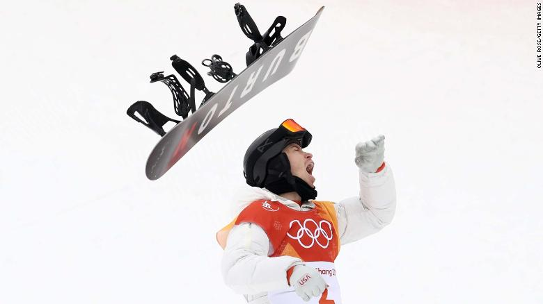 PYEONGCHANG-GUN%2C+SOUTH+KOREA+-+FEBRUARY+14%3A++Gold+medalist+Shaun+White+of+the+United+States+celebrates+during+the+Snowboard+Men%27s+Halfpipe+Final+on+day+five+of+the+PyeongChang+2018+Winter+Olympics+at+Phoenix+Snow+Park+on+February+14%2C+2018+in+Pyeongchang-gun%2C+South+Korea.++%28Photo+by+Clive+Rose%2FGetty+Images%29
