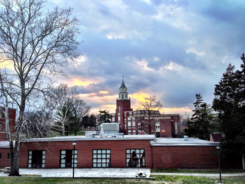 SIU Carbondale's Pulliam Hall on campus