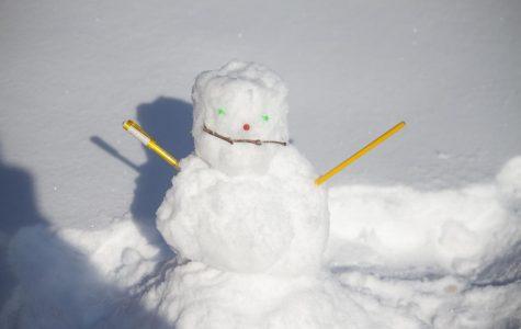School starts in snow