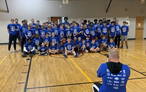 Basketball camp brings positive energy to community