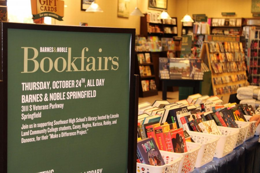 On Thursday Oct. 24, 2019 the EDU 220 students had a book fair at Barnes & Noble where part of the proceds were donated to the project.