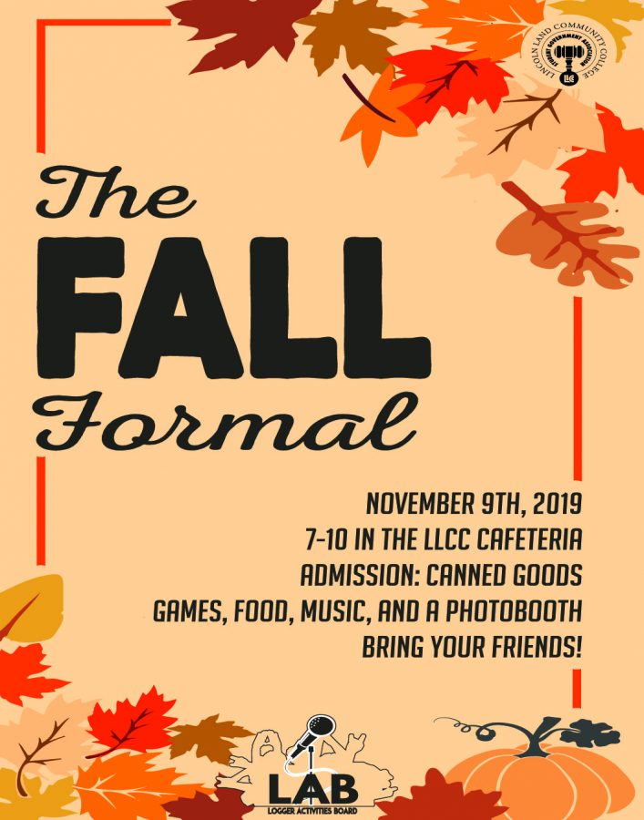Fall formal set November 9th bring excitement to students and clubs