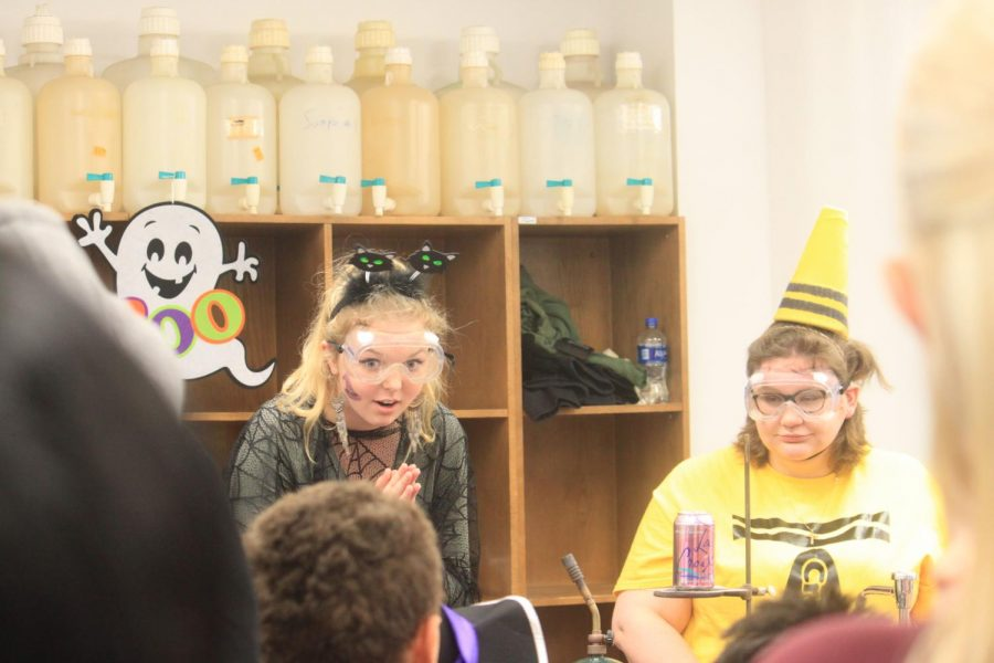 Haunted Lab excites young scientists