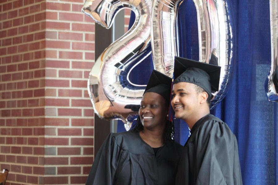 Simon Berhe was a 2019 graduate at LLCC. He particpated in Gradfest, a time for students to celebrate their accomplishments