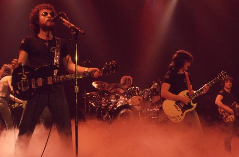 Blue Öyster Cult played the Illinois State Armory in 1978  (not pictured: cowbell)